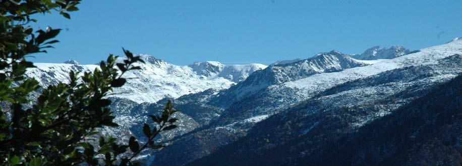 Site Natura 2000 Vallée de l'Aston sous la neige